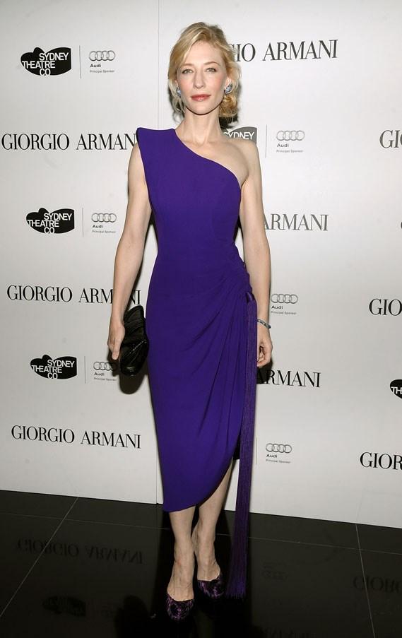 Giorgio Armani welcomes Cate Blanchett and the Sydney Theatre Company New York, 2009