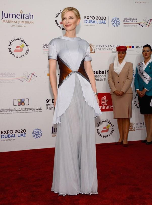 At the Dubai international film festival, 2012