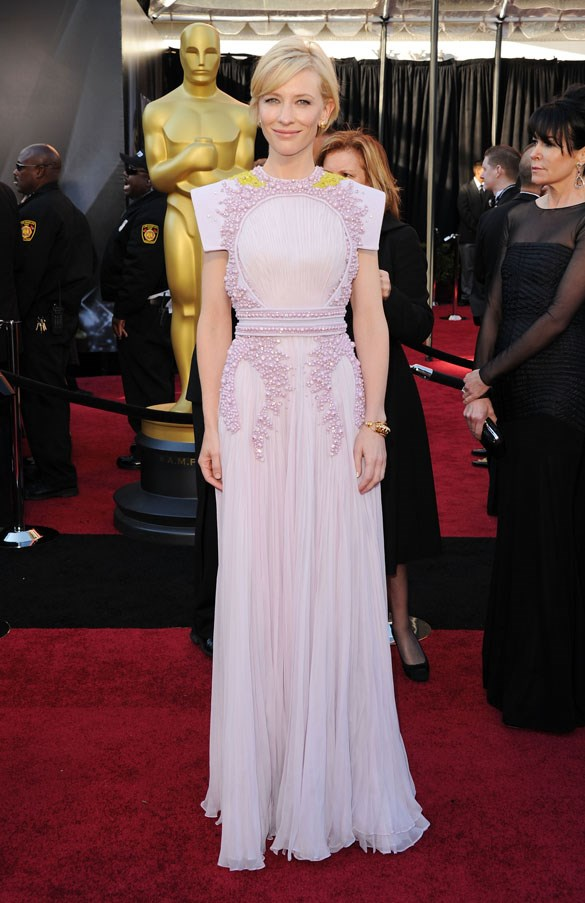 In Givenchy at the Academy Awards, 2011