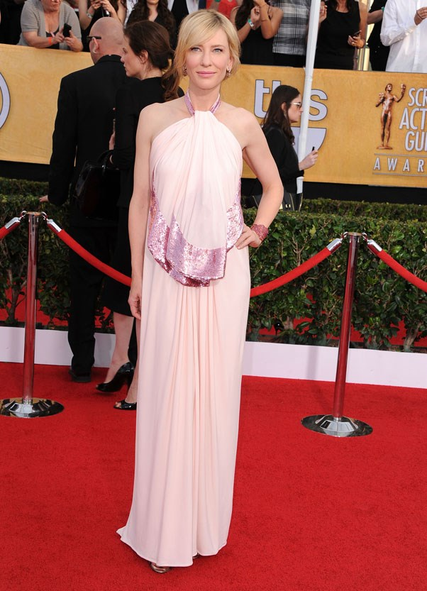 At the Screen Actor's Guild awards, 2014