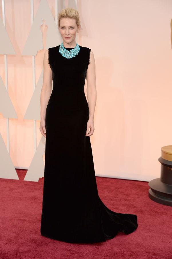 In John Galliano for Maison Margiela at the Oscars, 2015