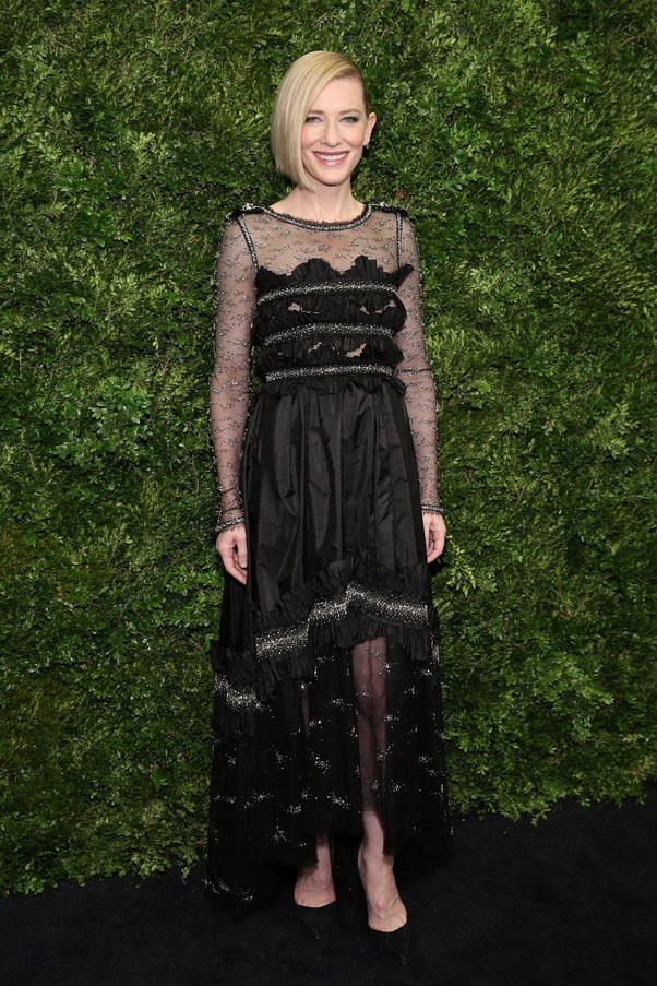 At the Museum of Modern Art's event honouring Cate Blanchett, 2015