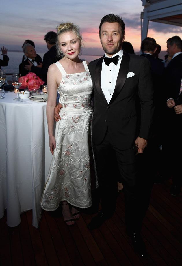 Kirsten Dunst and Joel Edgerton.