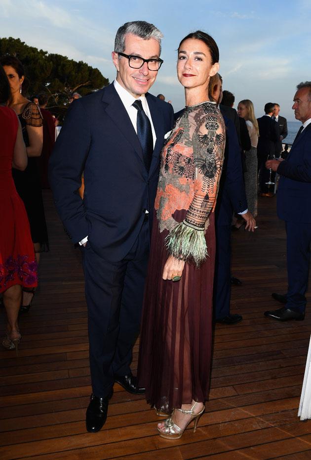 MaxMara's Giorgio Guidotti and Marie Louise Scio.