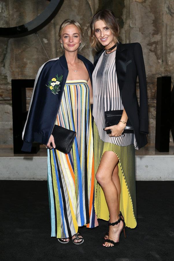 Nadia Fairfax and Kate Waterhouse at Maticevski