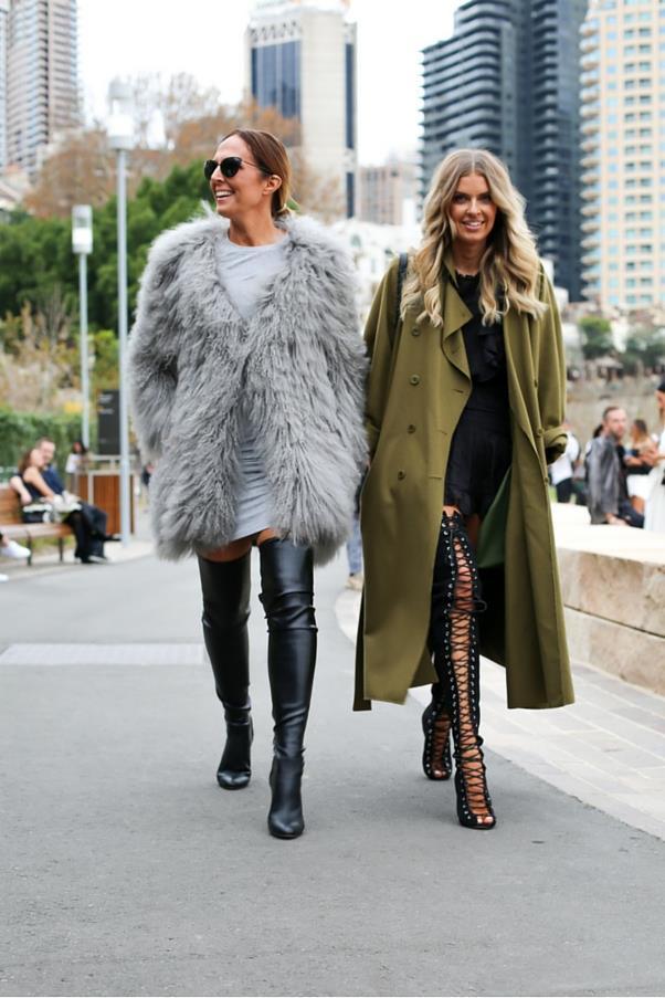 "Tash Sefton and Elle Ferguson<br><br> Image: Courtesy of <a href=""https://www.instagram.com/backstreetbyindia/?hl=en"">Backstreet By India</a>"