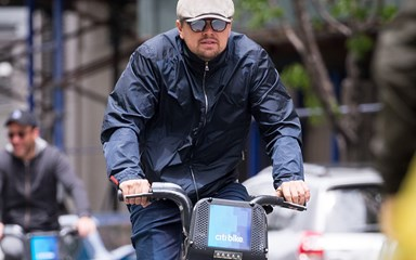 Leonardo DiCaprio Goes Bike Riding With His New Girlfriend