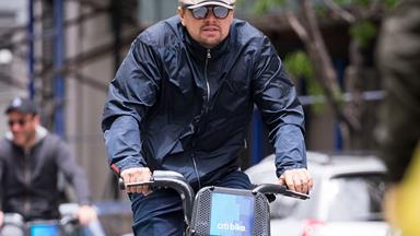 Leonardo DiCaprio Goes Bike Riding With His New Girlfriend