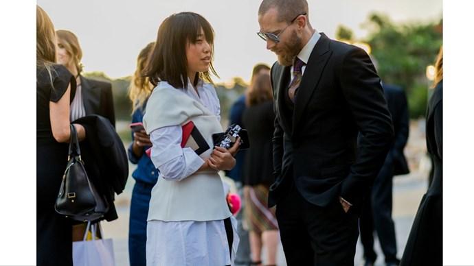 Margaret Zhang and Justin O'Shea