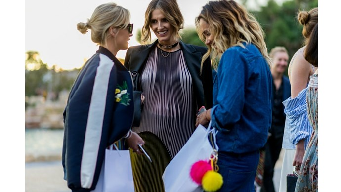 Nadia Fairfax, Kate Waterhouse and Pip Edwards