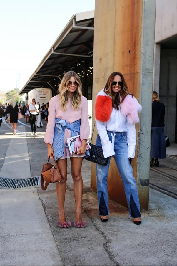 "Elle Ferguson and Tash Sefton <br><br> Image: Courtesy of <a href=""https://www.instagram.com/backstreetbyindia/?hl=en"">Backstreet By India</a>"
