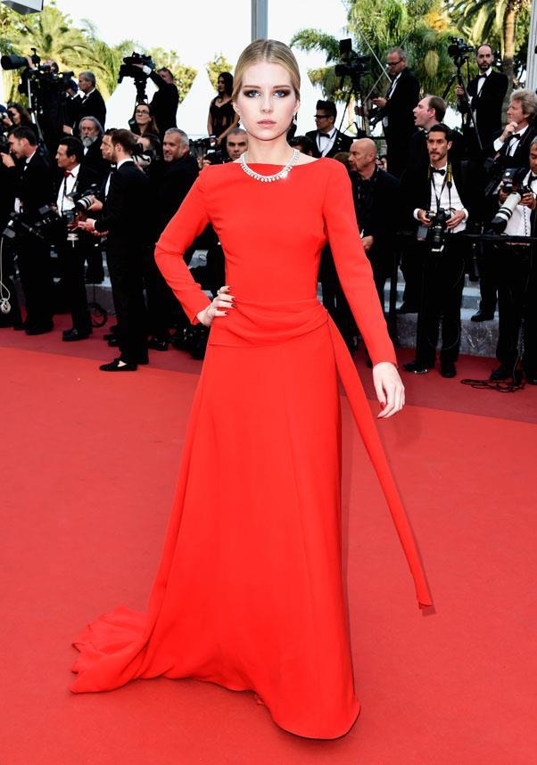 Lottie Moss in Dior