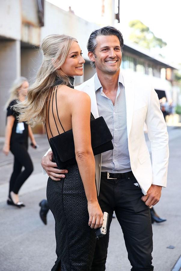 Anna Heinrich and Tim Robards
