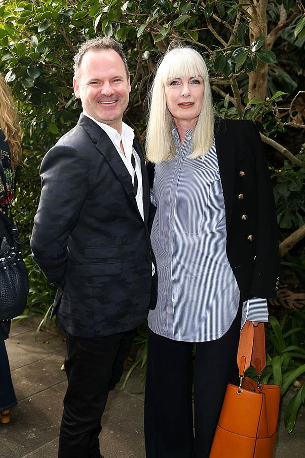 Damian Burke and Donna Player at Romance Was Born