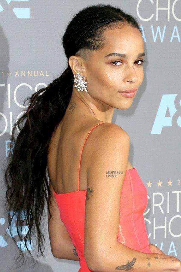 <strong>The Secret Shave Pony</strong> <br><br> As seen on Zoë Kravitz