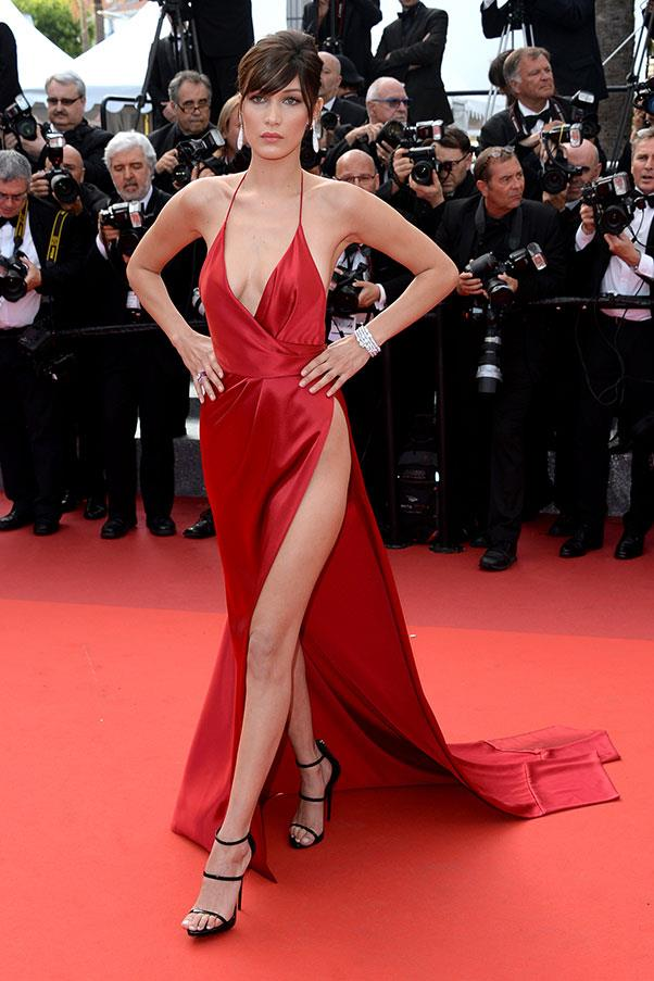 <strong>Bella Hadid</strong> <br><br> In Alexandre Vauthier