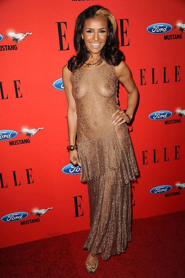 <strong>Melody Thornton</strong> <br><br> The Pussycat Doll went full frontal in a champagne number at <em>ELLE's </em>2012 Women in Music Awards.