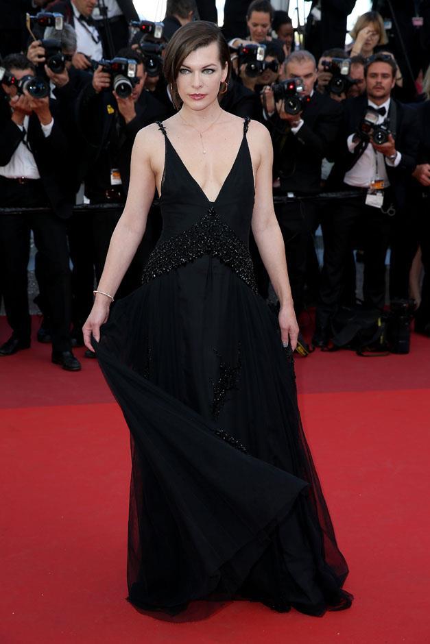 Milla Jovovich.