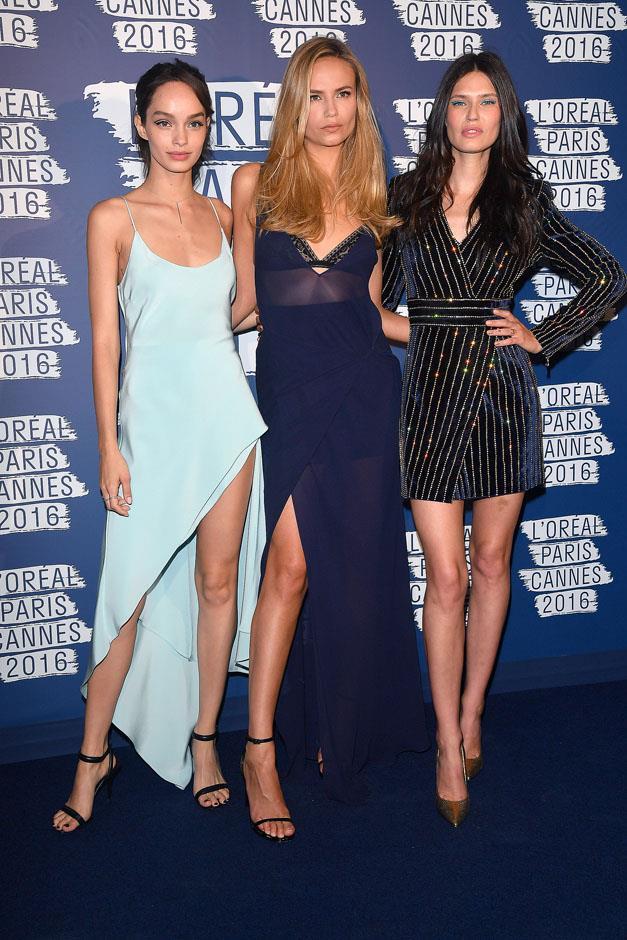 Luma Grothe, Natasha Poly and Bianca Balti.