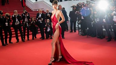 Bella Hadid On Wearing That Naked Dress At Cannes
