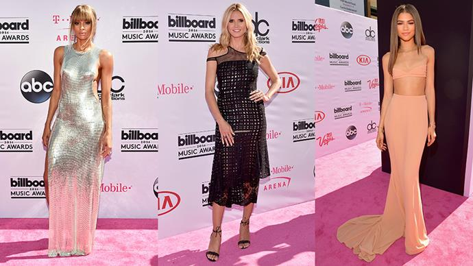 The best, craziest and most outrageous red carpet moments from the 2016 Billboard Awards.