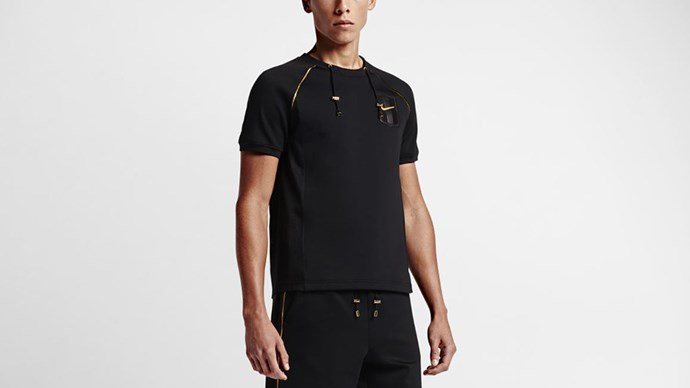 "NikeLab Top X OR<br><br> Courtesy of <a href=""http://news.nike.com/news/nikelab-olivier-rousteing"">Nike</a>"
