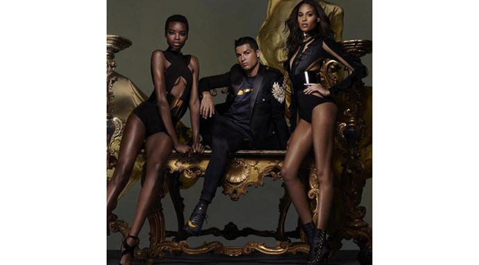 "Your first look at Olivier Rousteing's collaboration with NikeLab.<br><br> Picture: Instagram <a href=""https://www.instagram.com/olivier_rousteing/?hl=en"">@olivier_rousteing</a>"