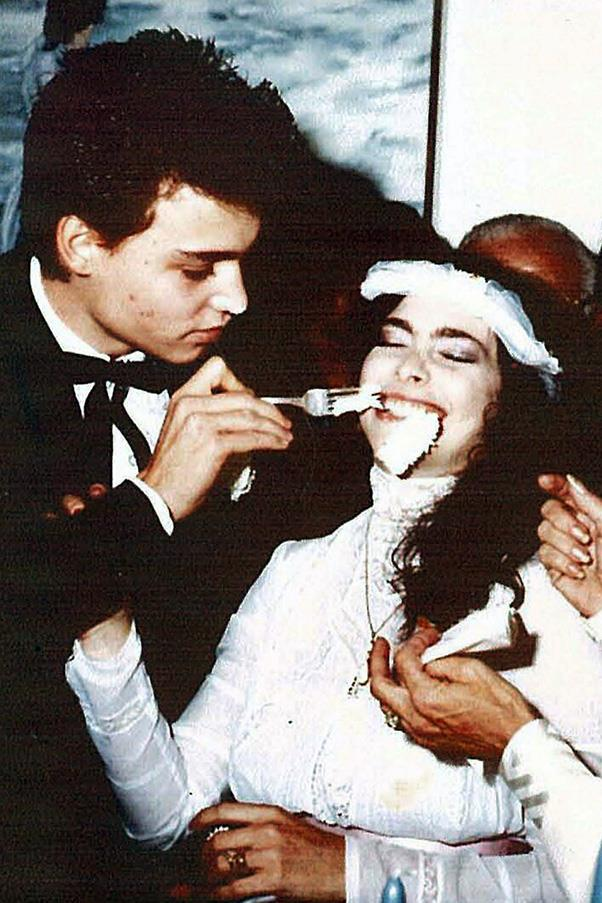 <strong>Lori Anne Allison 1983-1985</strong><br><br> Depp married make-up artist Lori Anne Allison when he was only 20; the two were married for two years.