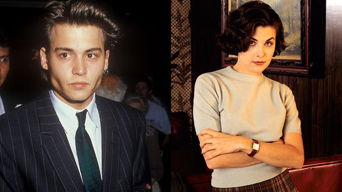 <strong>Sherilyn Fenn 1985-1988</strong><br><br> Depp dated <em>Twin Peaks</em> alumni Sherilyn Fenn after the two appeared together in an episode of <em>21 Jump Street</em>. They were apparently engaged, but never married.