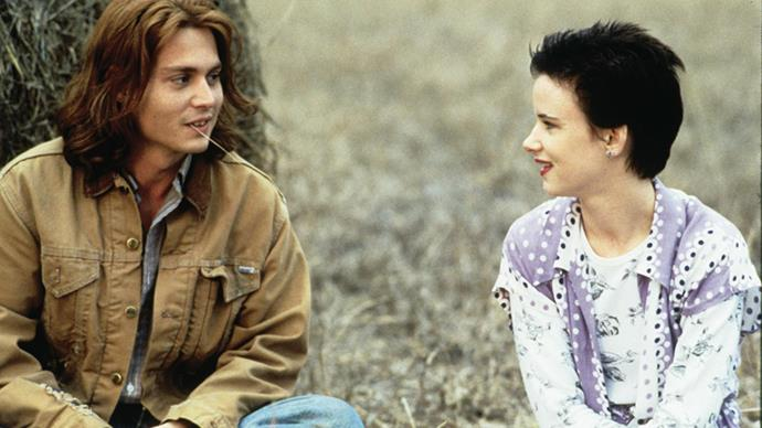<strong>Juliette Lewis 1993</strong><br><br> Depp reportedly dated his <em>What's Eating Gilbert Grape?</em> co-star briefly in the early '90s.