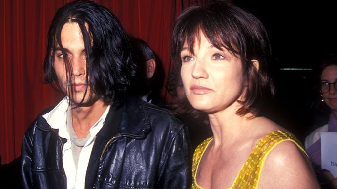 <strong>Ellen Barkin 1994</strong><br><br> Emmy Award-winning actress Ellen Barkin is said to have have had a brief fling with Depp - who was nine years younger than her.