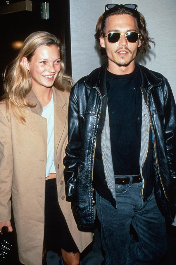 <strong>Kate Moss 1994-1998</strong><br><br> Probably the definitive 'It couple' of the '90s, Kate Moss and Johnny Depp were together for four years.