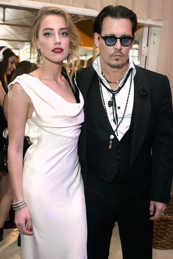 "<strong>Amber Heard 2012-2016</strong><br><br> Heard and Depp met on the set of <em>The Rum Diary</em> in 2009, but didn't start dating (officially) until 2012. In 2015 they got married and just yesterday, sadly, <a href=""http://www.harpersbazaar.com.au/news/celebrity-tracker/2016/5/johnny-depp-amber-heard-divorce/"">Heard filed for divorce</a>."