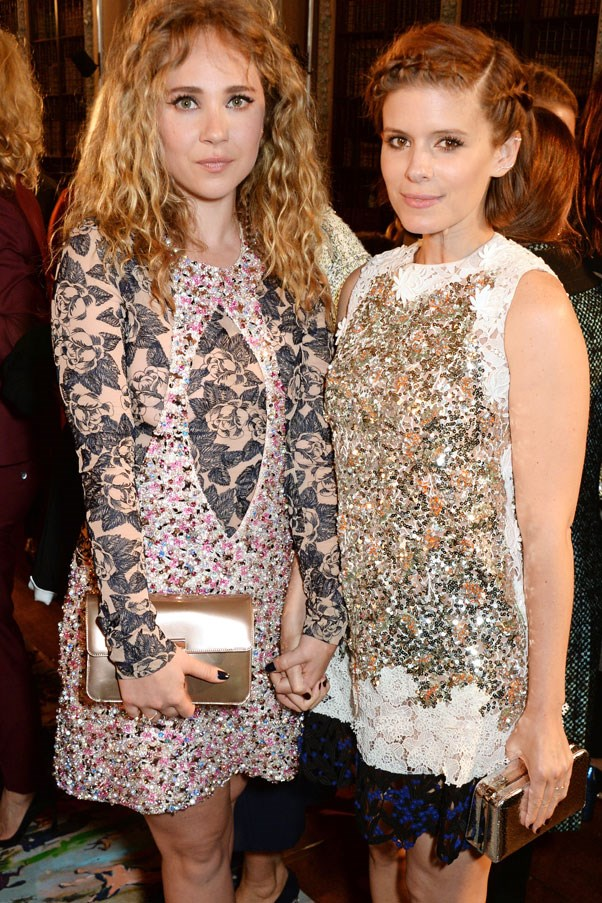 <strong>Juno Temple and Kate Mara</strong>