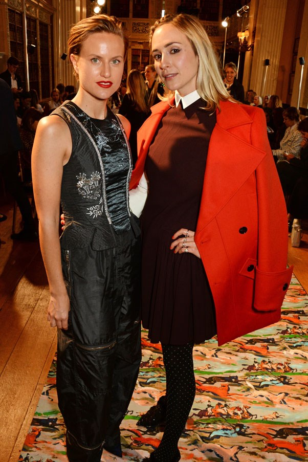 <strong>Olympia Scarry and Elisabeth von Thurn und Taxis</strong>