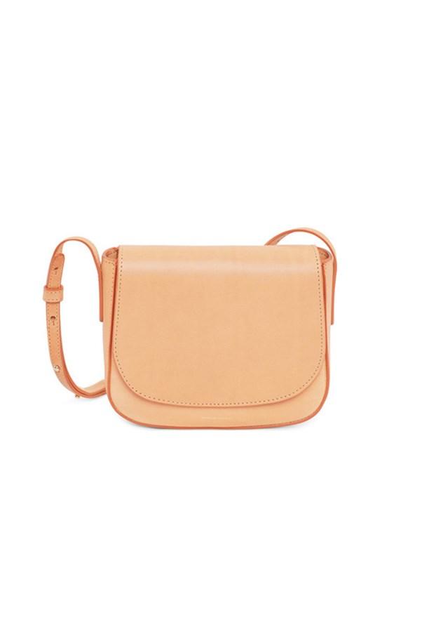 "<strong>4. A crossbody bag</strong> <br><br> 'Cammello' mini crossbody bag by Mansur Gavriel, $615, <a href=""https://www.mychameleon.com.au/mini-crossbody-bag-cammello-p-3850.html?typemf=women"">My Chameleon</a>"