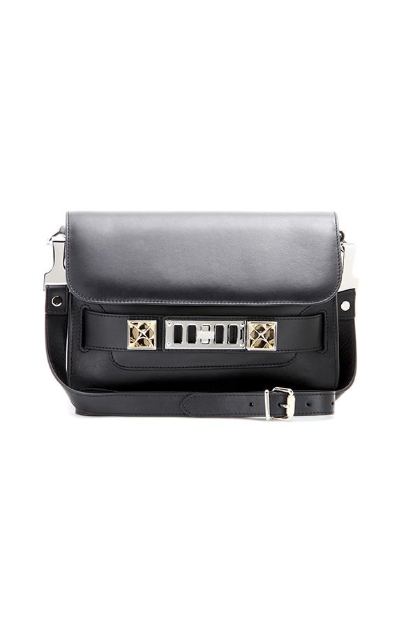 """<strong>5. A perfect everyday bag</strong> <br><br> 'PS11' mini classic leather shoulder bag by Proenza Schouler, $1915, <a href=""""http://www.mytheresa.com/en-au/ps11-mini-classic-leather-shoulder-bag-601454.html"""">My Theresa</a>"""