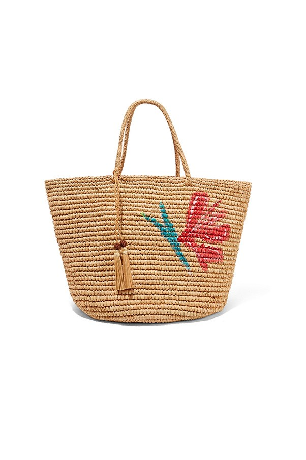 """<strong>6. A straw market tote </strong> <br><br> Maxi woven toquilla straw tote by Sensi Studio, $443, <a href=""""https://www.net-a-porter.com/au/en/product/722926/sensi_studio/maxi-woven-toquilla-straw-tote"""">Net-A-Porter</a>"""