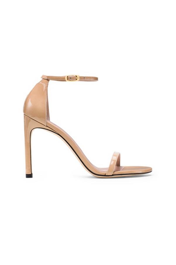 "<strong>15. A nude heel</strong> <br><br> 'Nudistsong' high heel ankle strap sandal by Stuart Weitzman, $770, <a href=""http://shop.davidjones.com.au/djs/en/davidjones/nudistsong-high-heel-ankle-strap-sandal-5610-11821--1"">David Jones</a>"