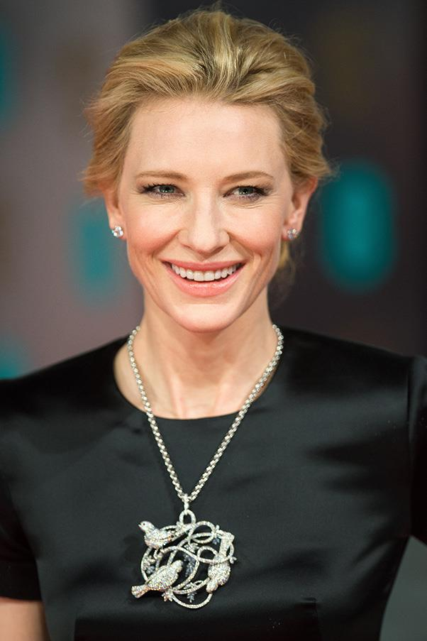 <strong>19. A simple diamond earring</strong> <br><br> Cate Blanchett