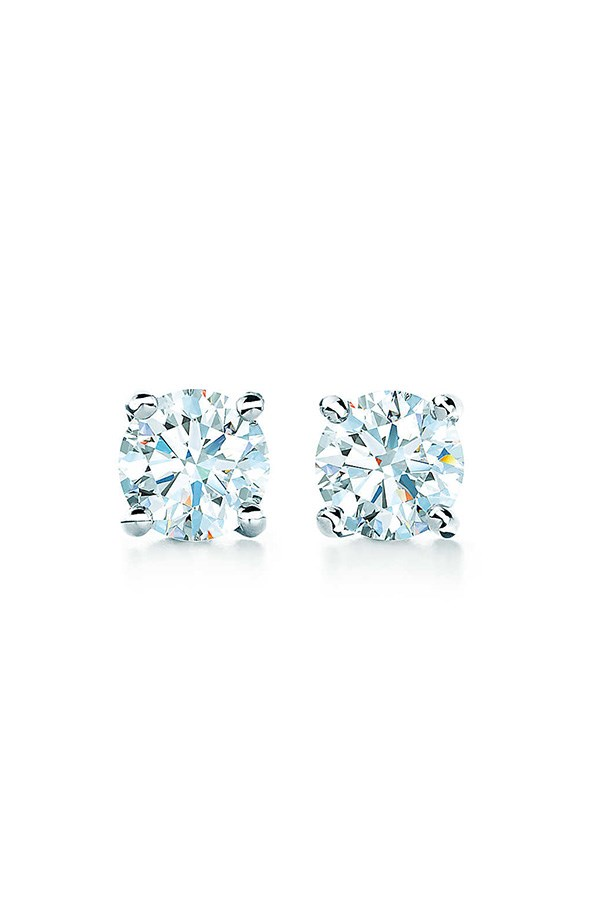 """<strong>19. A simple diamond earring</strong> <br><br> 'Tiffany' solitaire diamond earrings by Tiffany & Co., $1900, <a href=""""http://www.tiffany.com.au/jewelry/earrings/tiffany-solitaire-diamond-earrings-GRP00432?fromGrid=1&search_params=p+1-n+10000-c+287464-s+5-r+-t+-ni+1-x+-lr+-hr+-ri+-mi+-pp+0+6&search=0&origin=browse&searchkeyword=&trackpdp=bg&fromcid=287464&trackgridpos=,"""">Tiffany & Co.</a>"""