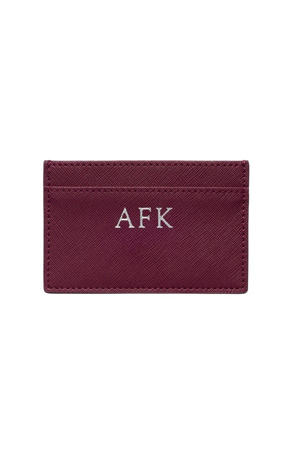 """<strong>21. A great everyday wallet or cardholder</strong> <br><br> Burgundy cardholder by The Daily Edited, $49.95, <a href=""""https://thedailyedited.com/shop/burgundy-cardholder/"""">The Daily Edited</a>"""