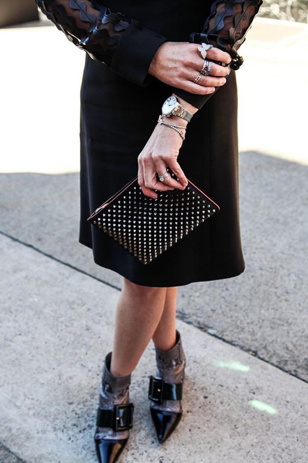 <strong>22. A piece of fine jewellery</strong> <br><br> <em>Harper's BAZAAR Australia</em> editor-in-chief Kellie Hush at fashion week Australia