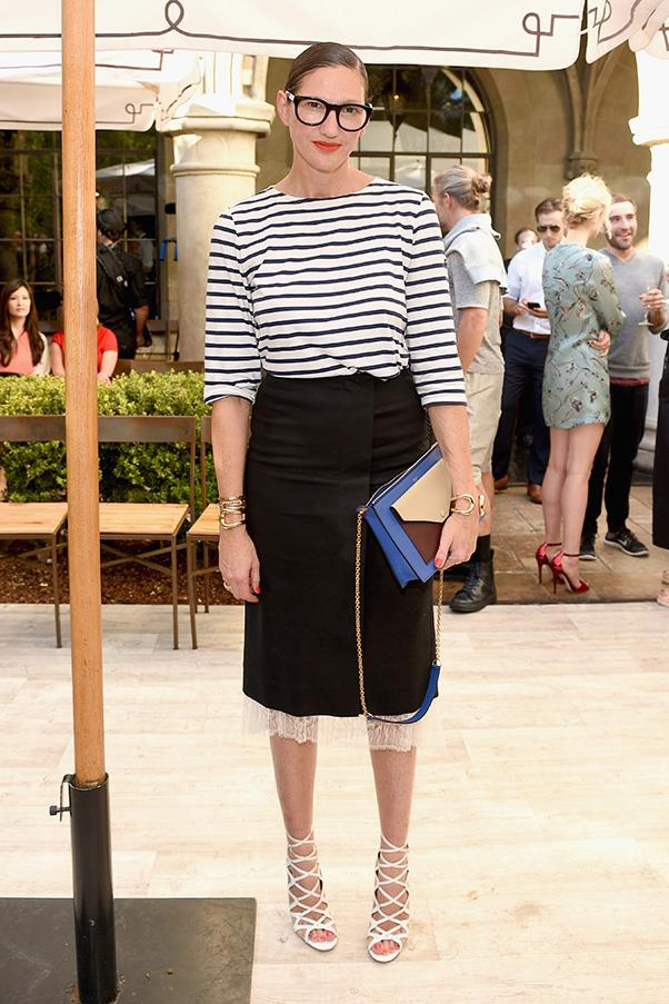 <strong>29. A 'Breton' tee</strong><br><br> Jenna Lyons