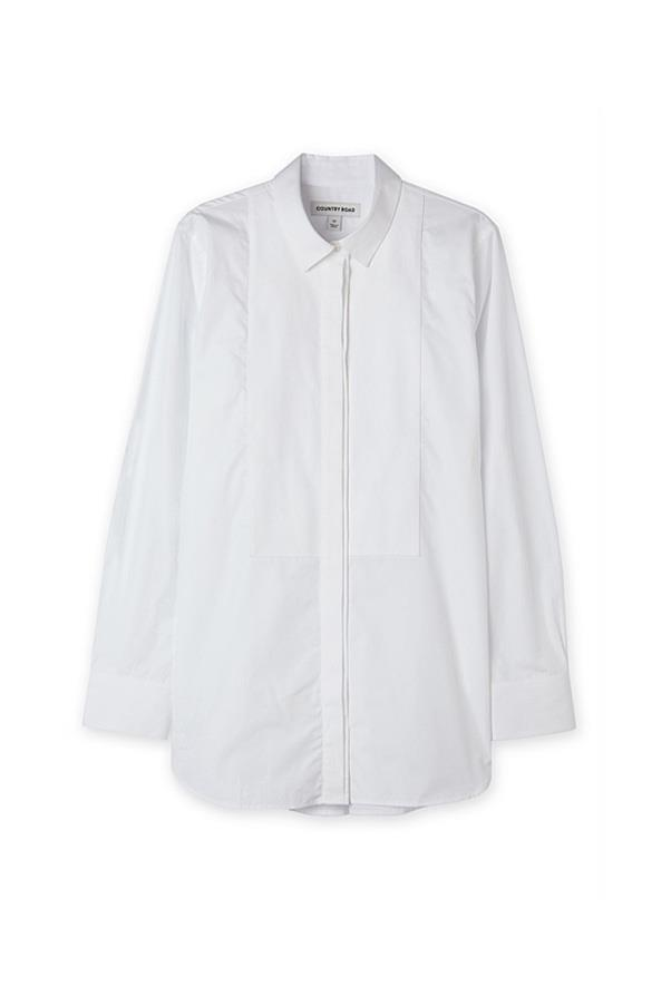 """<strong>32. A button down shirt</strong> <br><br> Bib detail shirt by Country Road, $129, <a href=""""http://www.countryroad.com.au/shop/woman/clothing/shirts/60195979/Bib-Detail-Shirt.html#"""">Country Road</a>"""