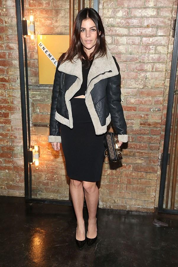<strong>36. A pencil skirt</strong><br><br> Julia Restoin-Roitfeld