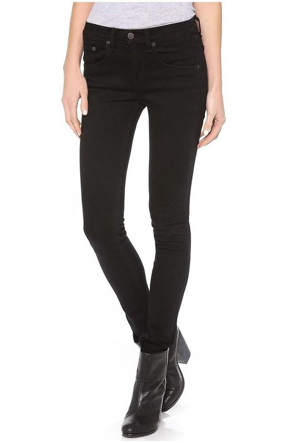 "<strong>38. A black skinny leg jean</strong> <br><br> High-rise skinny jeans by Rag & Bone, $257, <a href=""https://www.shopbop.com/high-rise-skinny-jeans-rag/vp/v=1/845524441920652.htm?folderID=2534374302169322&fm=other-shopbysize&os=false&colorId=10173"">Shopbop</a>"