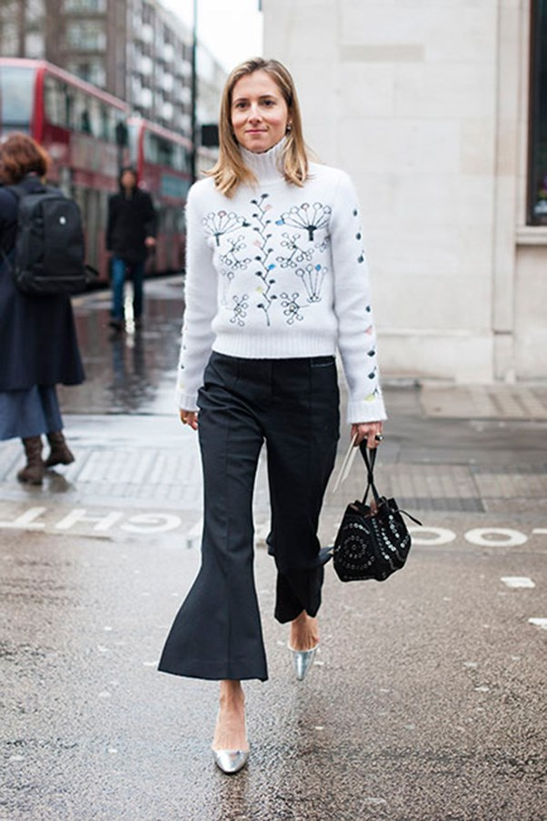<strong>39. A flared pant</strong><br><br> Photo: Jason Lloyd Evans