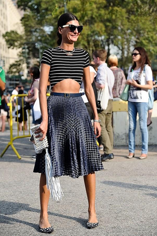 <strong>40. A midi skirt</strong><br><br> Giovanna Battaglia