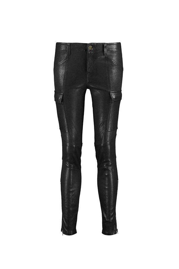 """<strong>43. A pair of leather pants</strong> <br><br> 'Houlihan' leather skinny pants by J Brand, $785, <a href=""""https://www.theoutnet.com/en-AU/product/J-Brand/Houlihan-leather-skinny-pants/715143"""">The Outnet</a>"""
